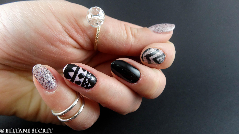 Nail art ethnique