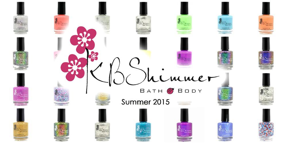 kb shimmer 2015 summer collection